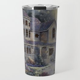 Altered Painting -Welcome Home Dresden Travel Mug