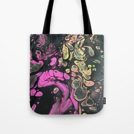 psychedelic 70's Tote Bag