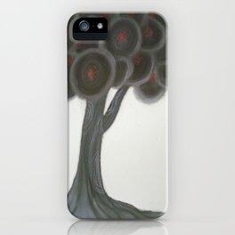 Krishnachura tree iPhone Case