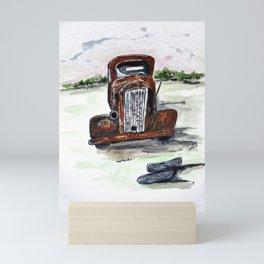 Former Bootlegger Mini Art Print