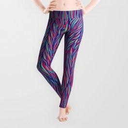 Color Fur Leggings