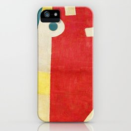 An Antelope in Escape iPhone Case