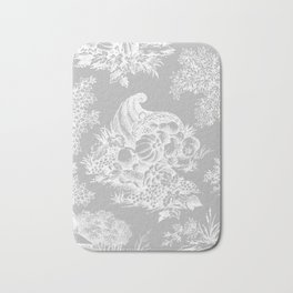toile tradition grey Bath Mat