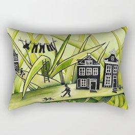 The Green Grass of Home #1 Rectangular Pillow