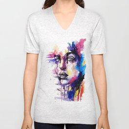 Colored soul Unisex V-Neck