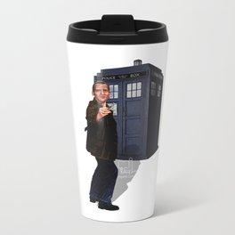 9th Doctor Metal Travel Mug