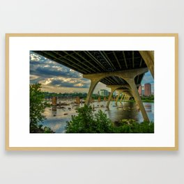 Richmond - Virginia Framed Art Print