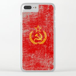 Soviet Clear iPhone Case