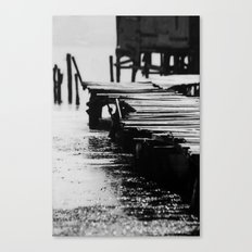 Fisher Dock Canvas Print
