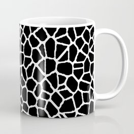 staklo (black with white) Coffee Mug