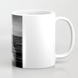 B&W Surfer's Sunset Coffee Mug