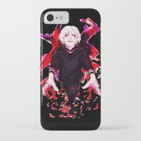 tokyo ghoul iPhone & iPod Cases featuring Kaneki Tokyo Ghoul 4 by Prince Of Darkness