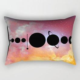 Solar System vol 1 Rectangular Pillow