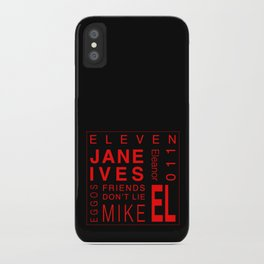 Eleven:Stranger Things iPhone Case