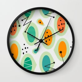 Mid-century abstraction Wall Clock