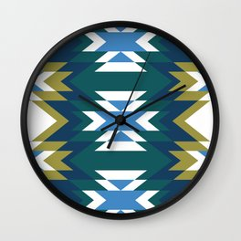 Patchwork No.2 Wall Clock