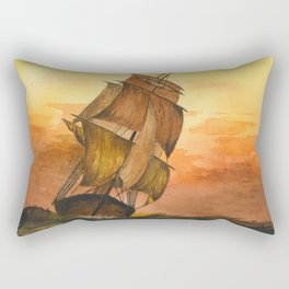 William #9 Rectangular Pillow