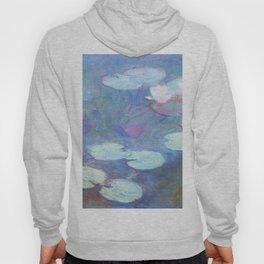 Claude Monet Water Lilies Pink 1899 Hoody