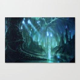 Far Off Places Canvas Print
