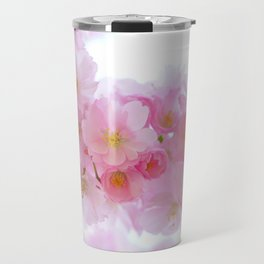 Pink Japanese Cherry Tree Blossom Travel Mug