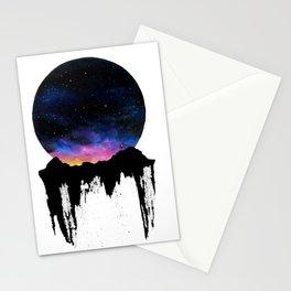 Mountain Sunset II Stationery Cards