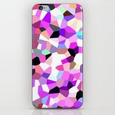 Modern Abstract Geometric Pattern Pink Teal Pastel  iPhone & iPod Skin