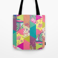 Patches Tote Bag