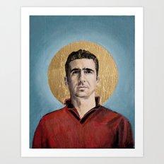 EC - Football Icon Art Print