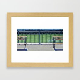 The Chairs Framed Art Print