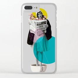 news int the morning Clear iPhone Case