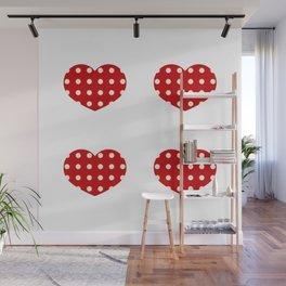 Hearts1 Wall Mural