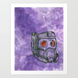 Star-Lord Art Print
