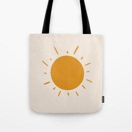painted sun Tote Bag