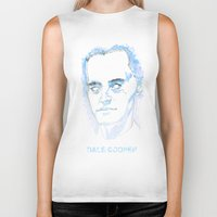 dale cooper Biker Tanks featuring Dale Cooper by kjell