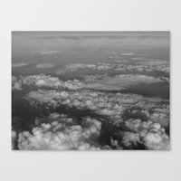 cloud Canvas Prints featuring cloud by habish