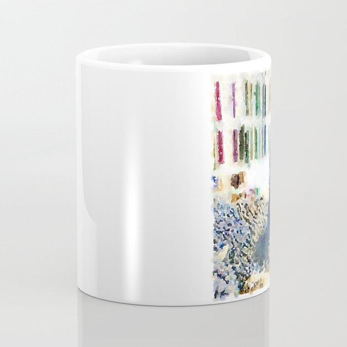 Alfred Watercolor Coffee Mug