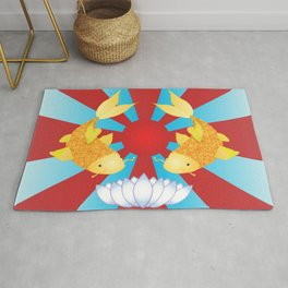 Reflective Guides Rug