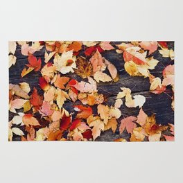 Fall Leafs (Color) Rug