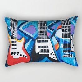 Guitar Trio Rectangular Pillow