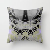 geode Throw Pillows featuring Geode 7 by michiko_design
