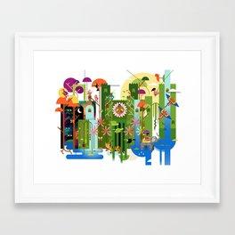 Royals (Land) Framed Art Print