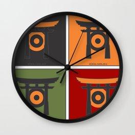 jap[ojo]ón Wall Clock