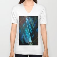 inception V-neck T-shirts featuring Inception. by Vanessa Furtado