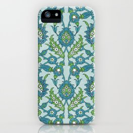 Floral ornament iPhone Case