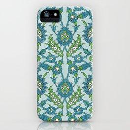 Floral ornament iPhone Case