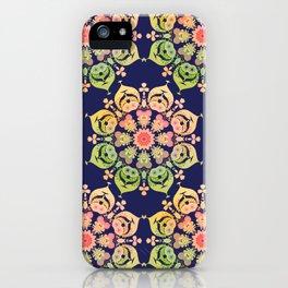 Indigo Flower iPhone Case