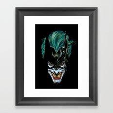 Joker - Darkest Knight  Framed Art Print