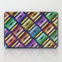 90s iPad Cases featuring 90s pattern by Gabor Nemethi