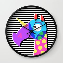 I See Unicorn Wall Clock