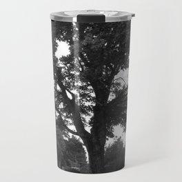 tree and grave Travel Mug